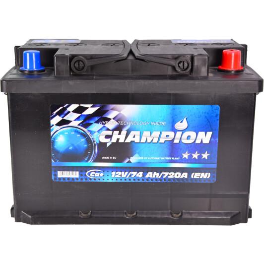 Аккумулятор Champion 6 CT-74-R Black CHB740 в Украине и Киеве   DOK.ua