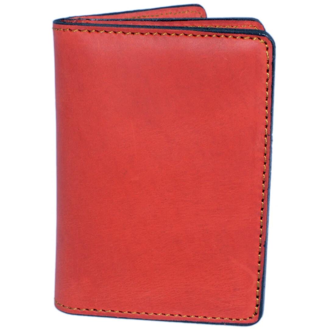 Купить Обложки для документов, Обложка для прав и техпаспорта Poputchik 5164/1-055R без логотипа красный