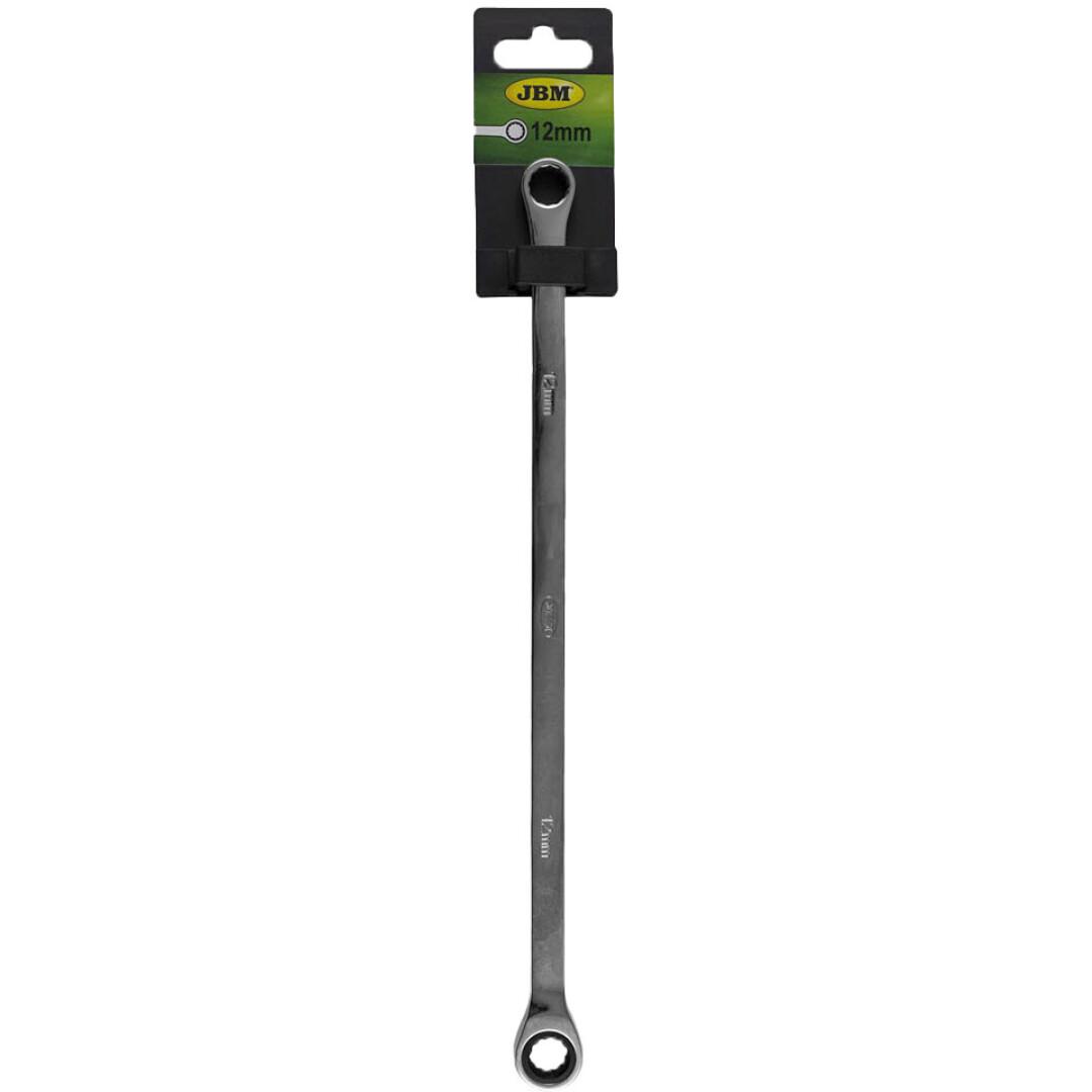 Купить Ключи автомобильные, Ключ накидной трещоточный JBM 13455 I-образный 12 мм