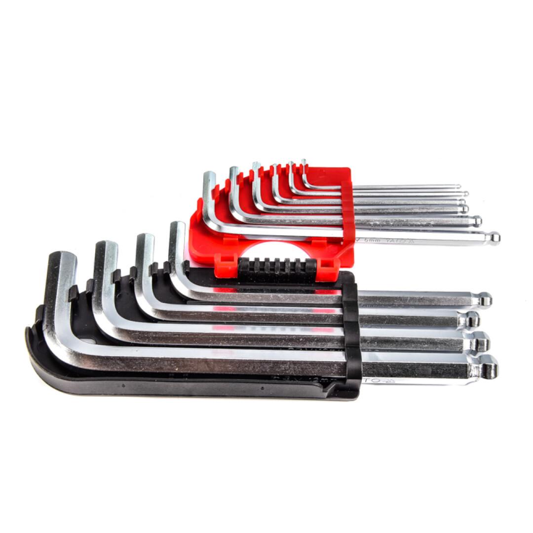 Купить Наборы инструментов, Набор инструментов Yato YT-0509 10 ед.