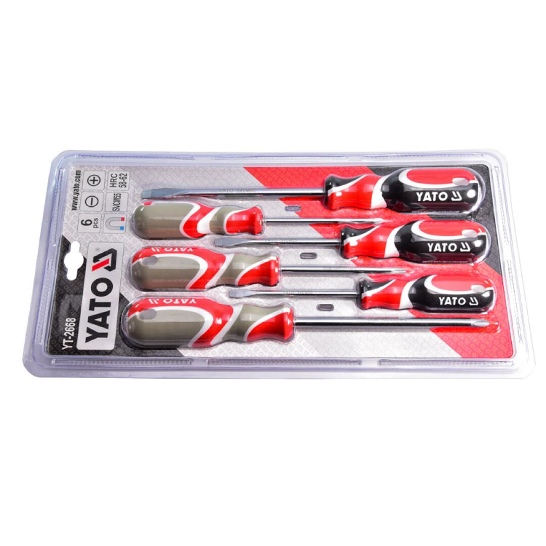 Купить Наборы инструментов, Набор инструментов Yato YT-2668 6 ед.