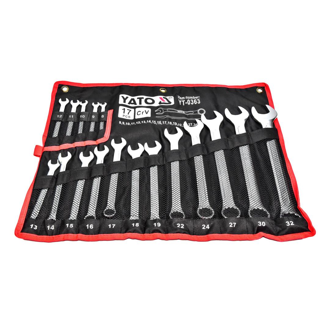 Купить Наборы инструментов, Набор инструментов Yato YT-0363 17 ед.