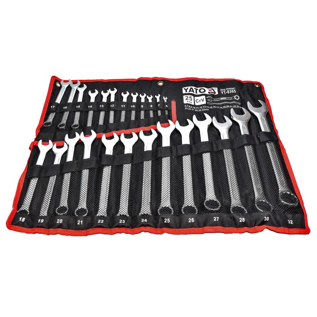 Купить Наборы инструментов, Набор инструментов Yato YT-0365 25 ед.