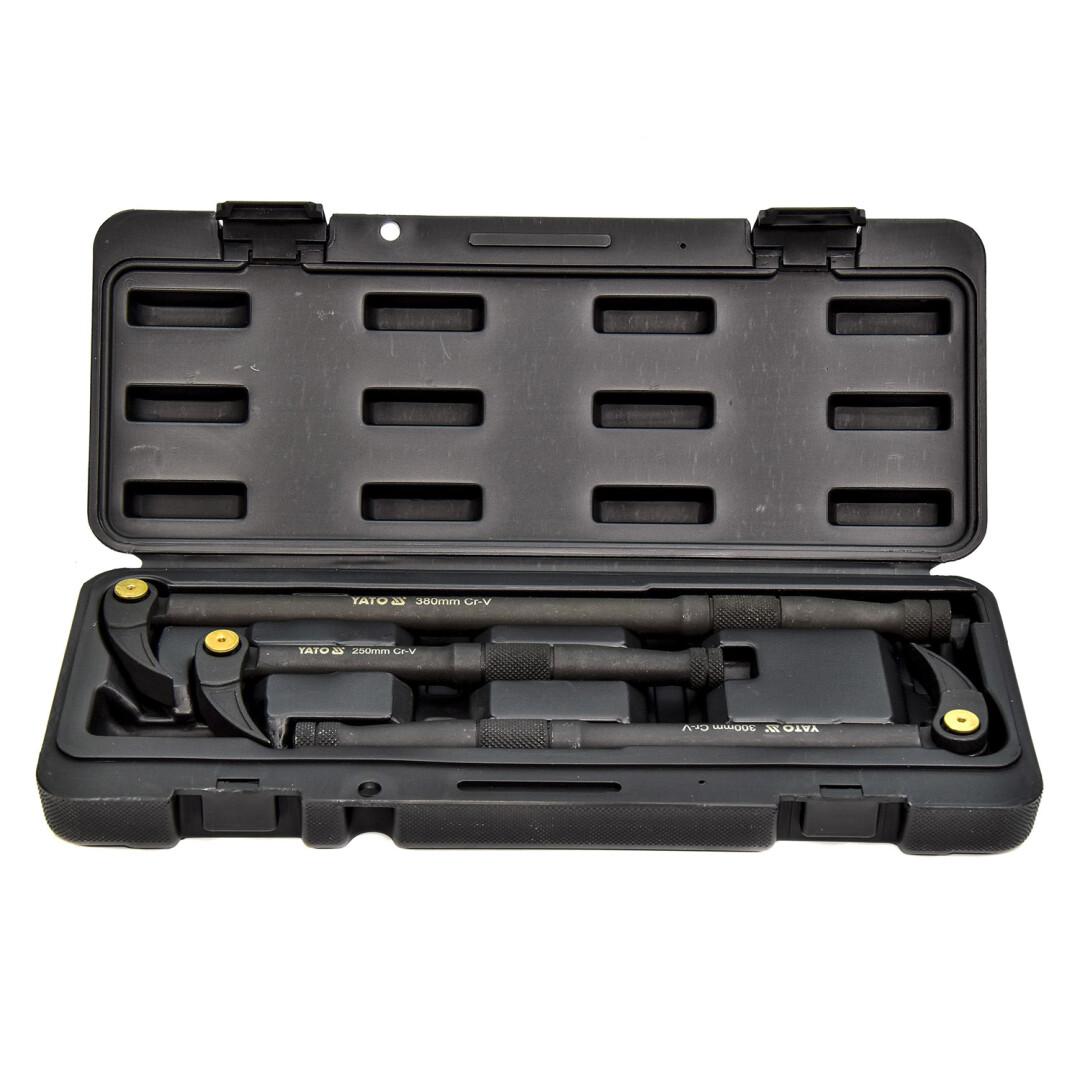 Купить Наборы инструментов, Набор инструментов Yato YT-06161 3 ед.