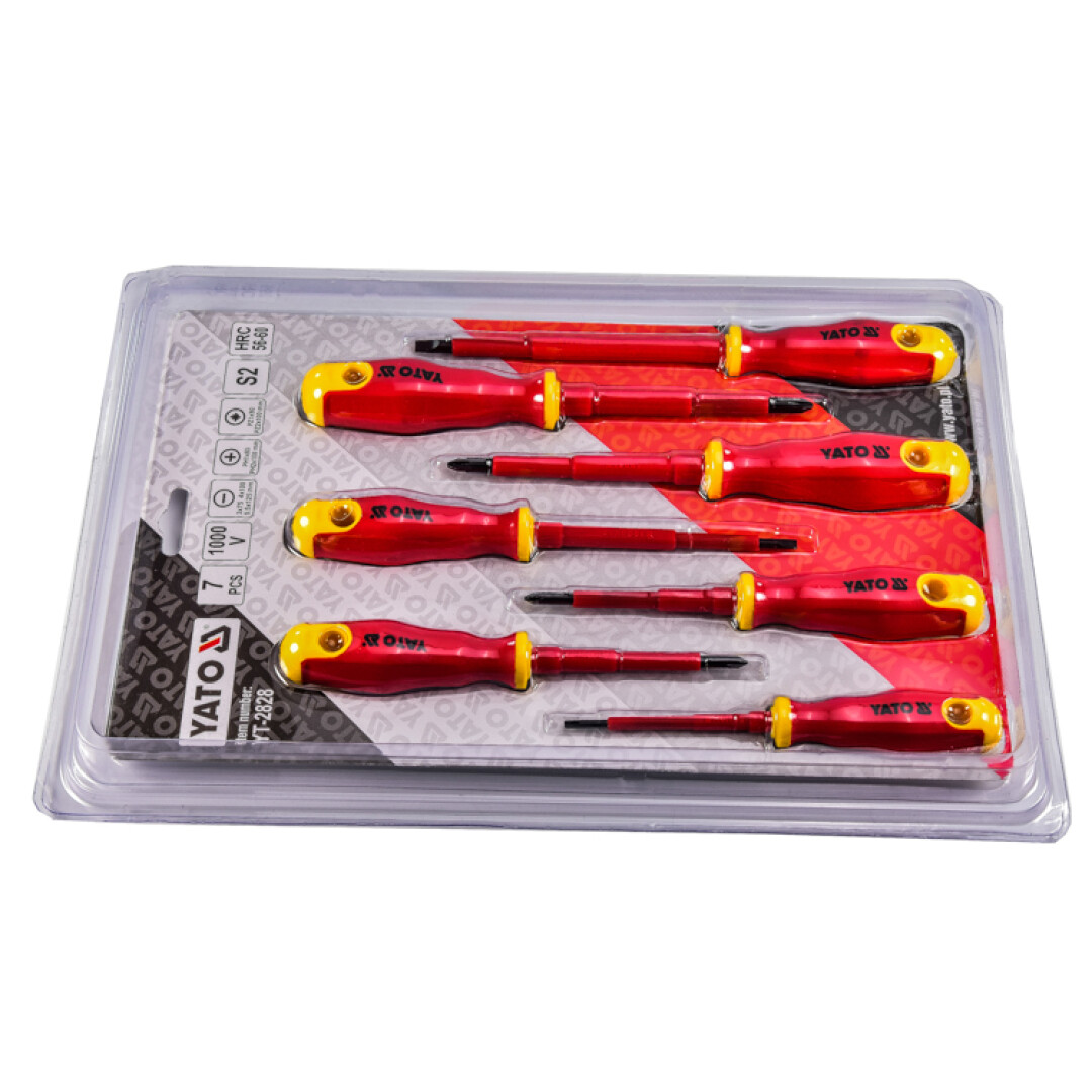 Купить Наборы инструментов, Набор инструментов Yato YT-2828 7 ед.