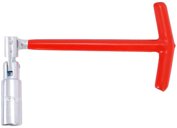 Купить Ключи автомобильные, Ключ свечной Intertool ht1722 T-образный 21 мм с шарниром