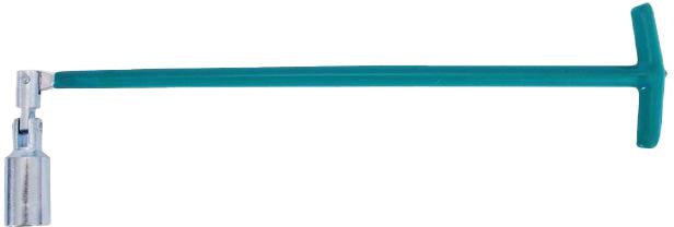 Купить Ключи автомобильные, Ключ свечной Intertool ht1723 T-образный 21 мм с шарниром