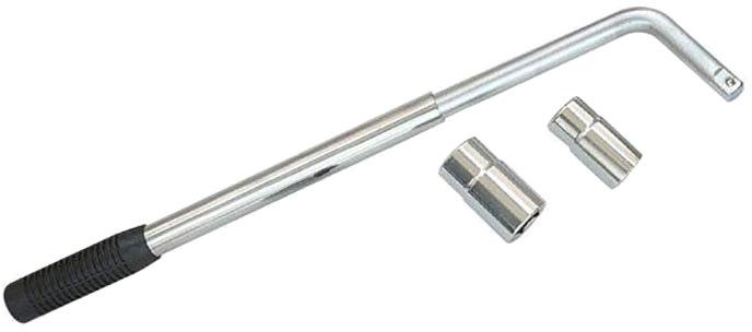 Купить Ключи автомобильные, Ключ балонный телескопический Profitool 0XAT6031 L-образный 17х19/21х23 мм