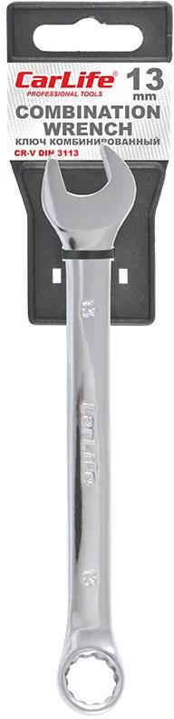 Купить Ключи автомобильные, Ключ рожково-накидной Carlife WR4013 I-образный 13 мм