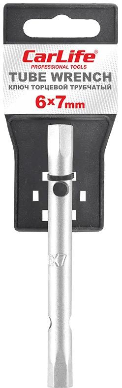 Купить Ключи автомобильные, Ключ торцевой Carlife WR2007 I-образный 6х7 мм