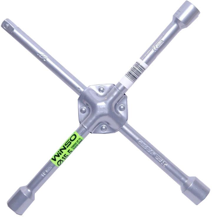 Купить Ключи автомобильные, Ключ балонный Winso 148000 X-образный 17x19x21 мм