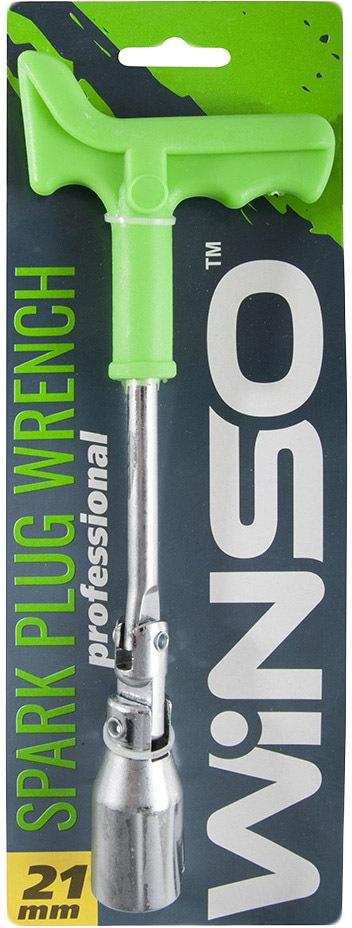 Купить Ключи автомобильные, Ключ свечной Winso 148800 T-образный 21 мм с шарниром