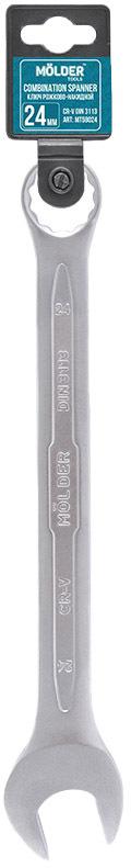 Купить Ключи автомобильные, Ключ рожково-накидной Molder MT58024 I-образный 24 мм