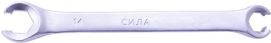 Купить Ключи автомобильные, Ключ разрезной Сила 201414 I-образный 12х14 мм