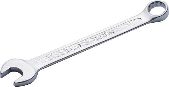 Купить Ключи автомобильные, Ключ рожково-накидной Сила 201917 I-образный 17 мм
