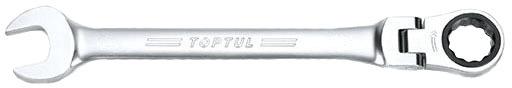 Купить Ключи автомобильные, Ключ комбинированный трещоточный Toptul AOAH1313 I-образный 13 мм с шарниром