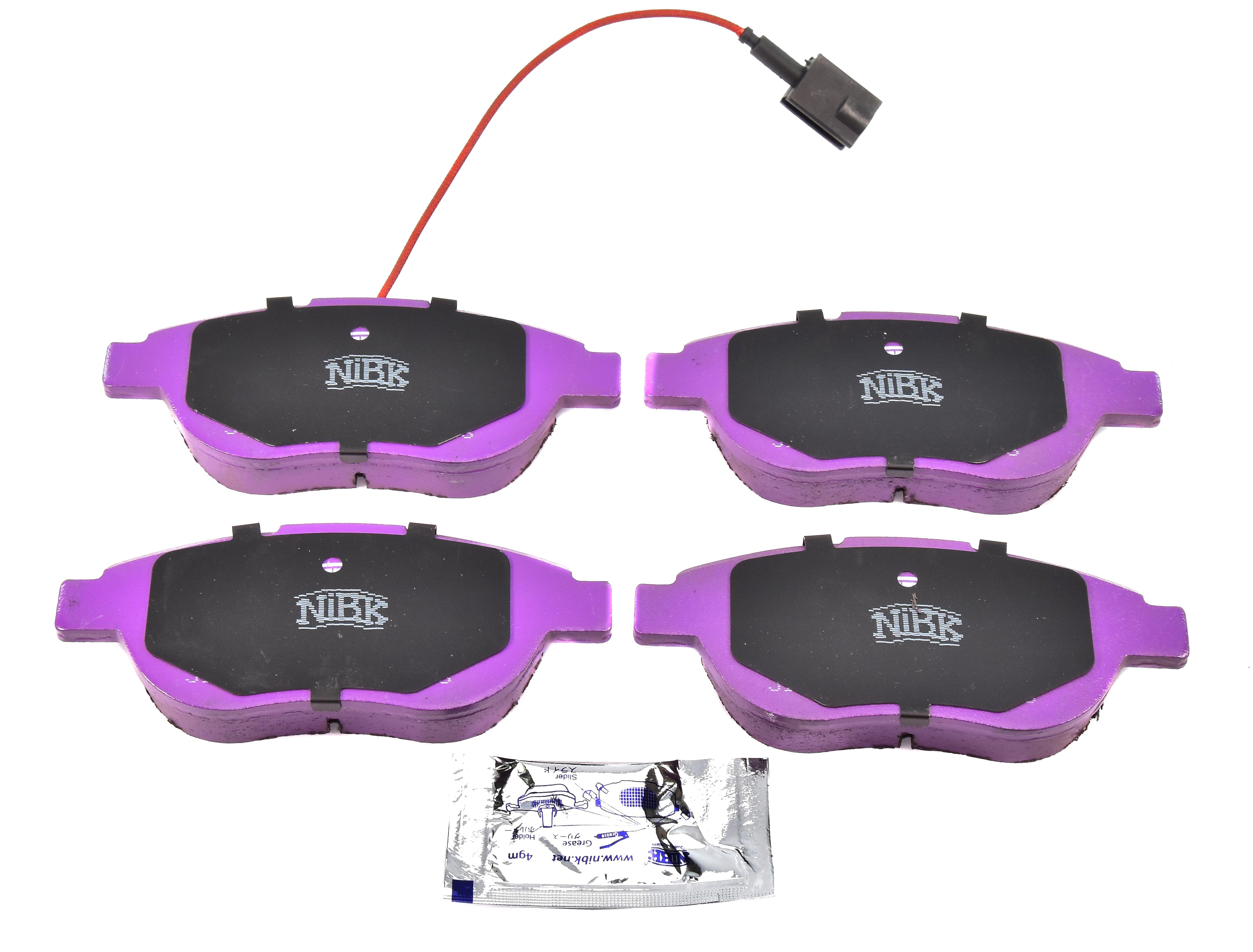 Купить Nibk PN0187W Тормозные колодки