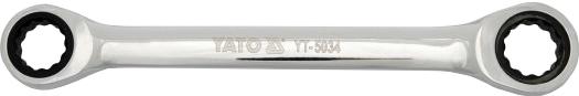 Купить Ключи автомобильные, Ключ накидной трещоточный Yato yt5030 I-образный 8х9 мм