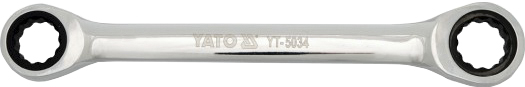Купить Ключи автомобильные, Ключ накидной трещоточный Yato yt5033 I-образный 14х15 мм
