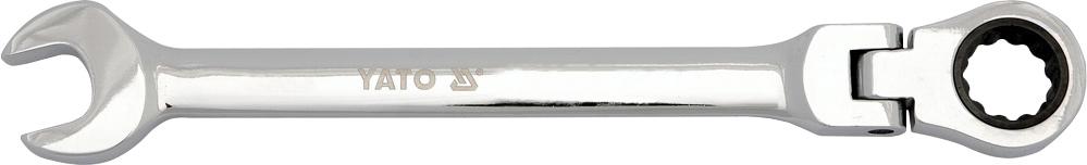 Купить Ключи автомобильные, Ключ комбинированный трещоточный Yato YT1674 I-образный 8 мм с шарниром
