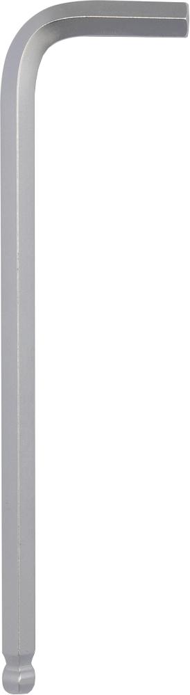 Купить Ключи автомобильные, Набор ключей шестигранных Yato YT5804 10 мм с шарообразным наконечником 6 шт