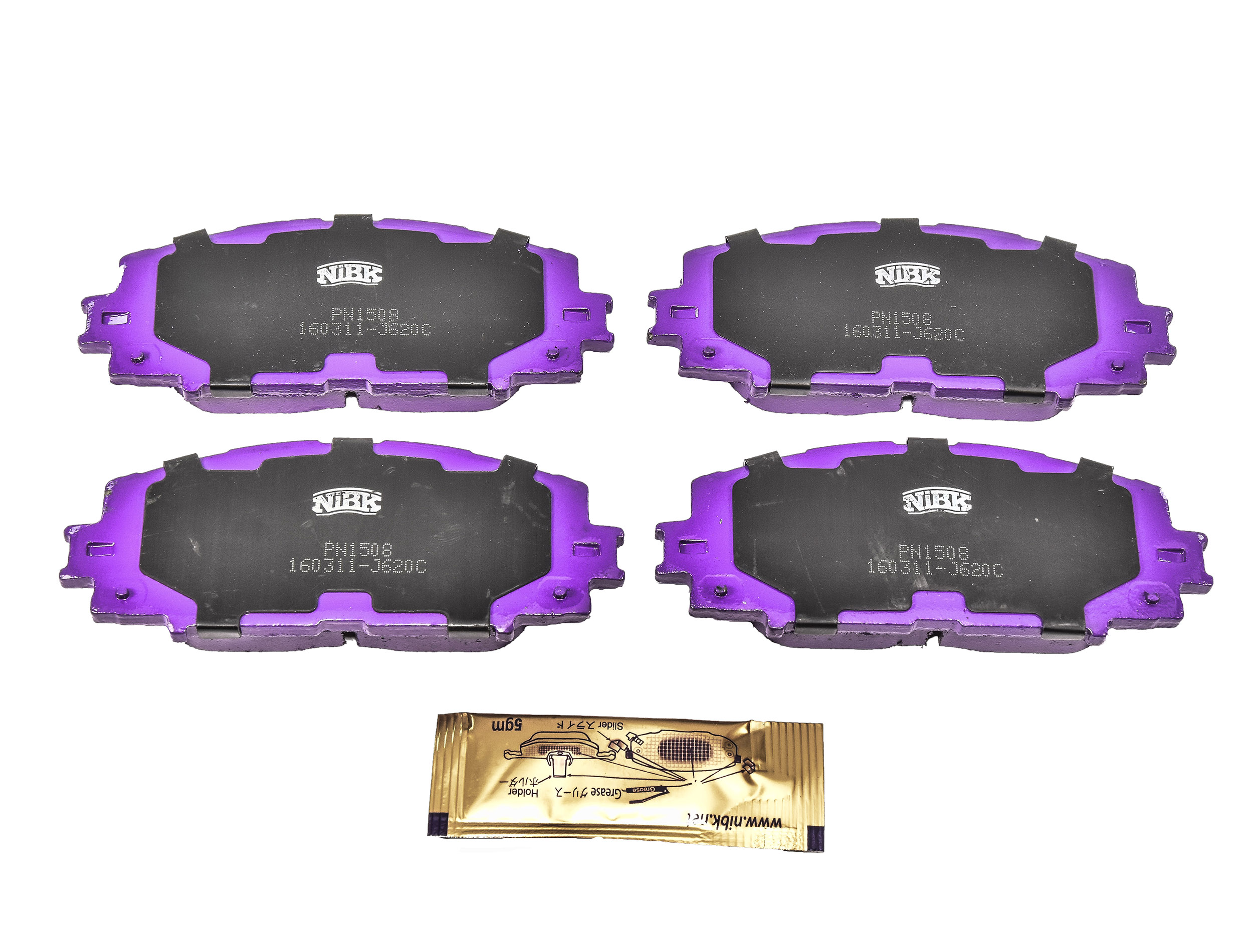 Купить Nibk PN1508 Тормозные колодки