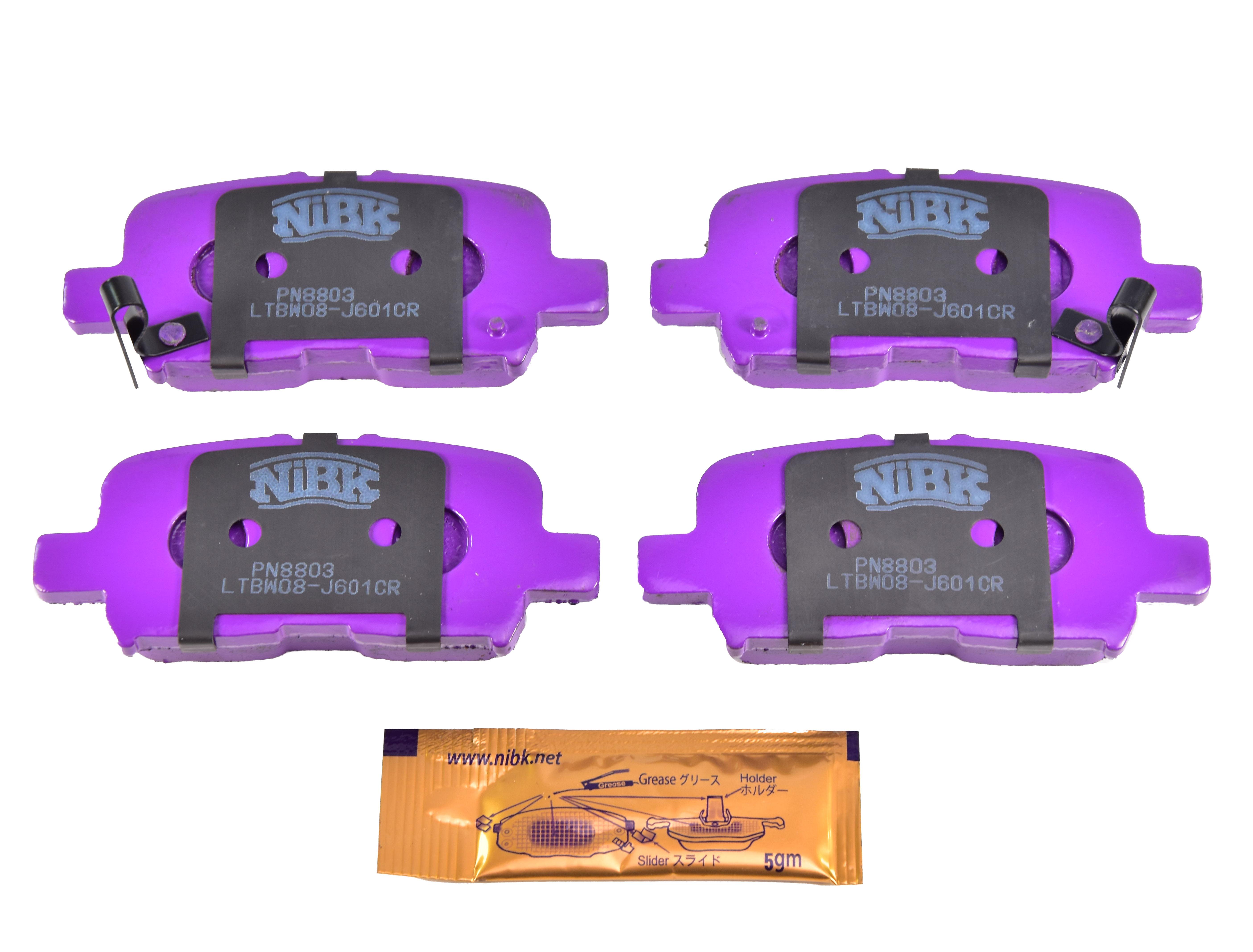 Купить Nibk PN8803 Тормозные колодки