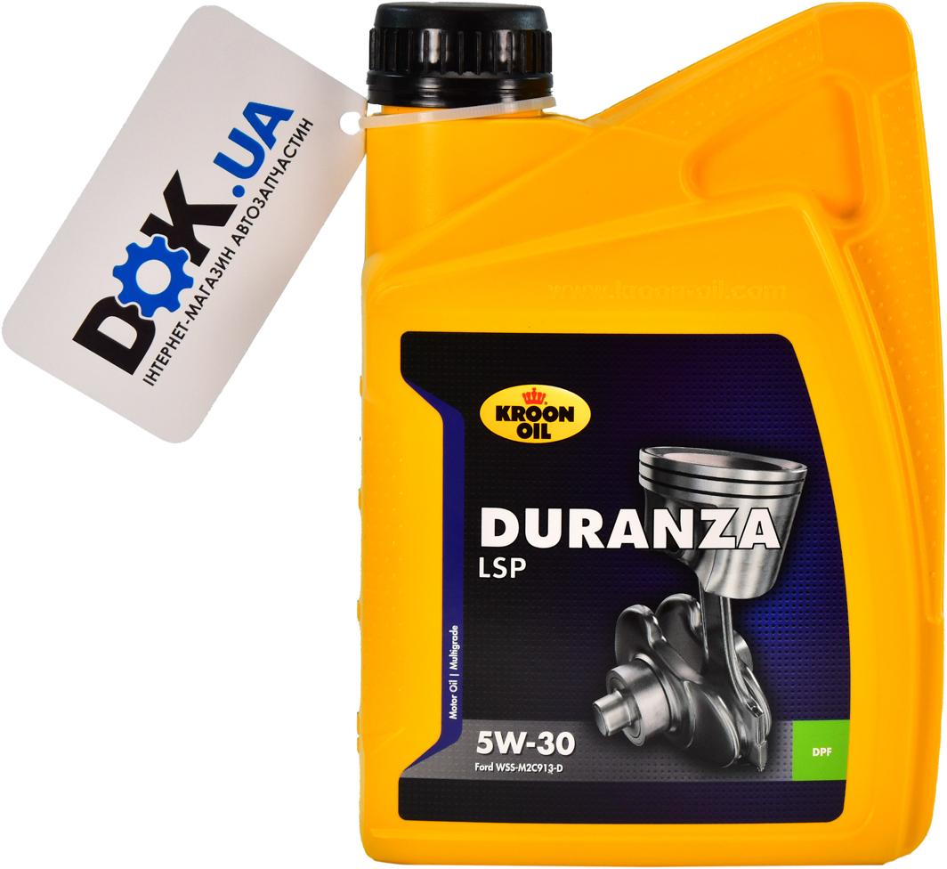 Купить Моторное масло Kroon Oil Duranza LSP 5W-30 синтетическое 34202