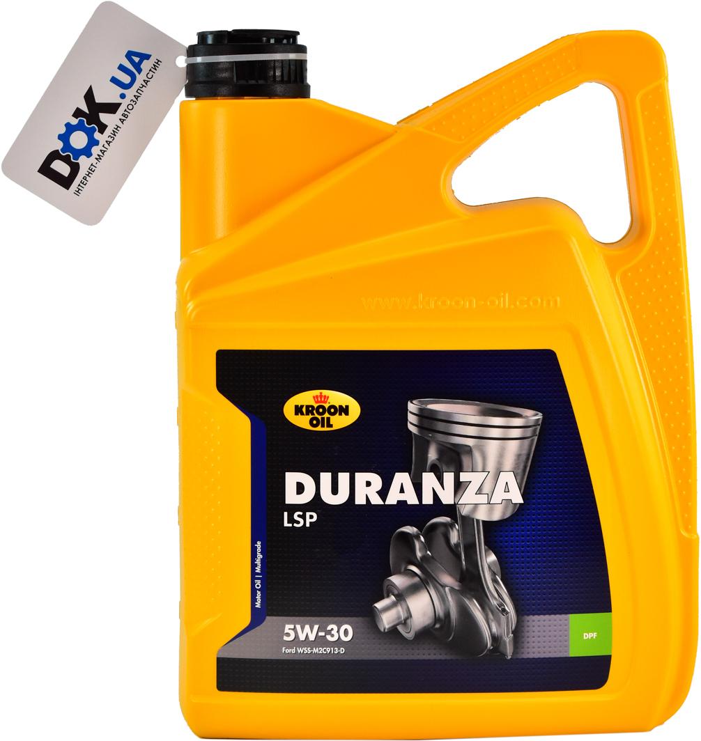 Купить Моторное масло Kroon Oil Duranza LSP 5W-30 синтетическое 34203