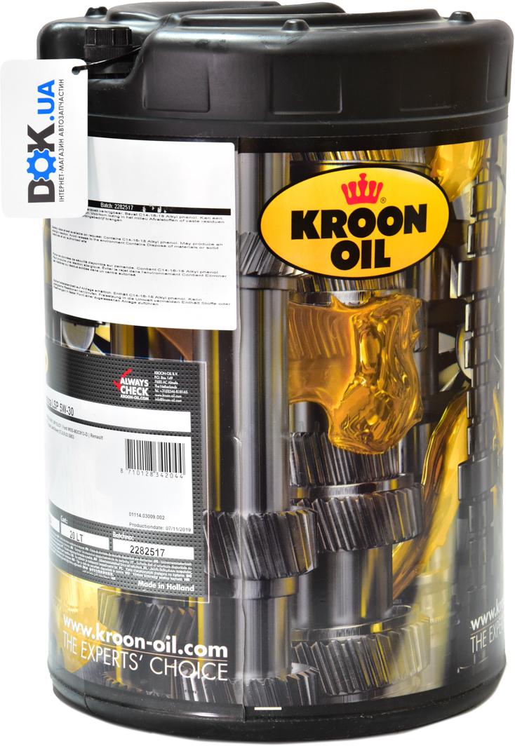 Купить Моторное масло Kroon Oil Duranza LSP 5W-30 синтетическое 34204