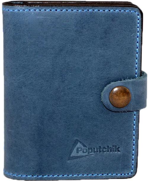 Купить Обложки для документов, Обложка для прав и техпаспорта Poputchik 5164-2-053P без логотипа серый