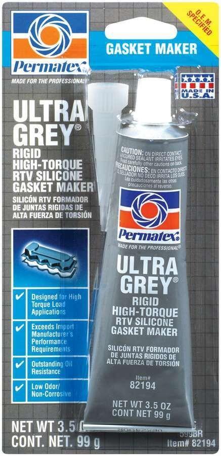 Купить Герметики, Формирователь прокладок Permatex Ultra Grey серый