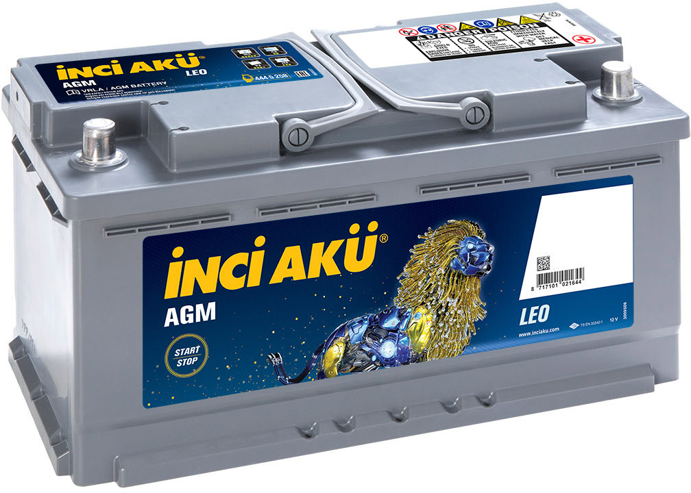 Купить Аккумулятор Inci Aku 6 CT-92-R Start-Stop AGM Leo L5092085013