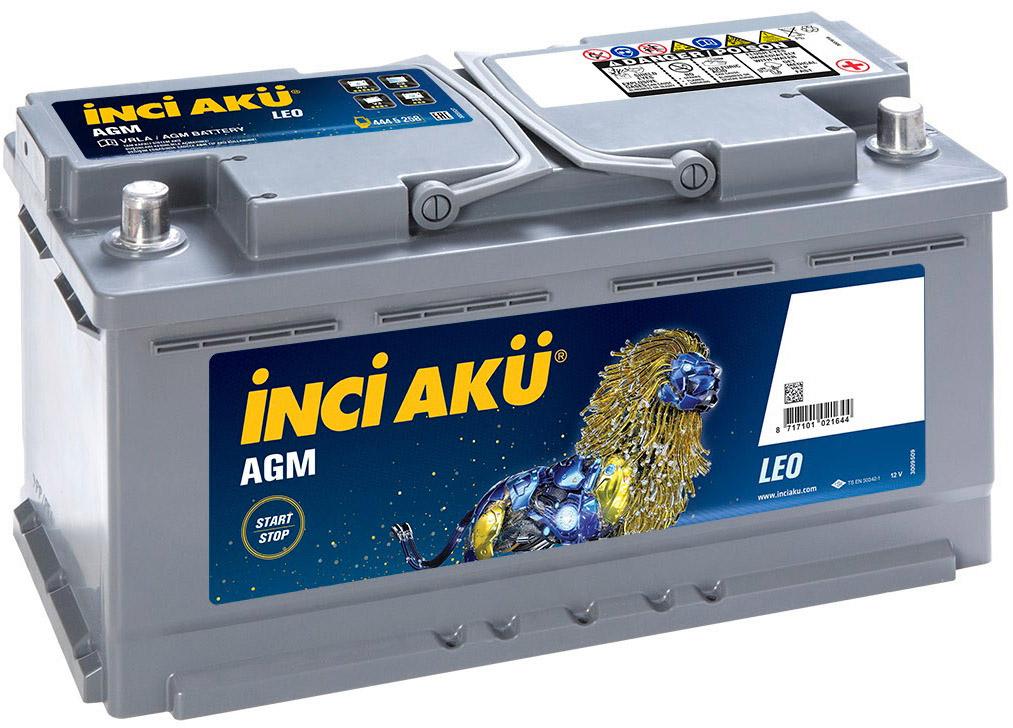 Купить Аккумулятор Inci Aku 6 CT-105-R Start-Stop AGM Leo L6105085013