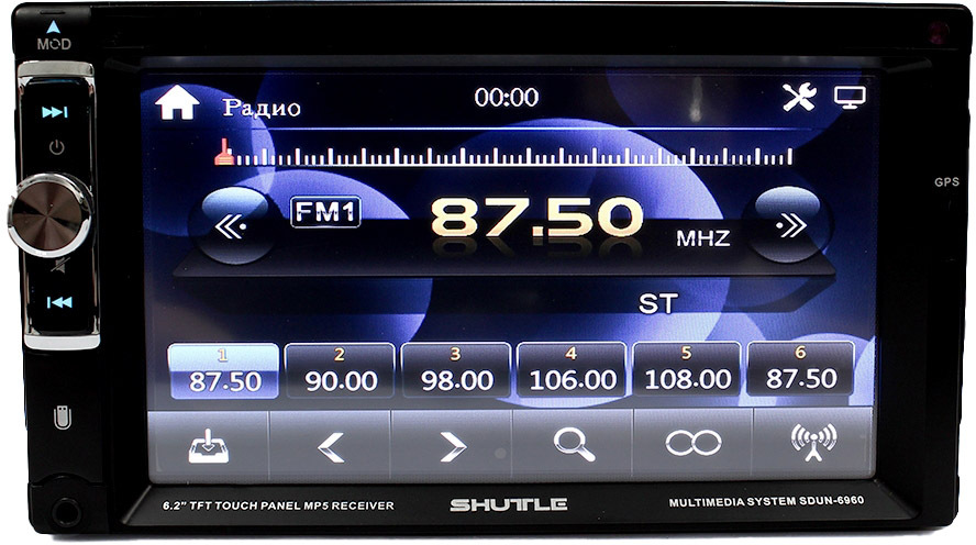 Купить Автомагнитолы, Магнитола Shuttle SDUN-6960