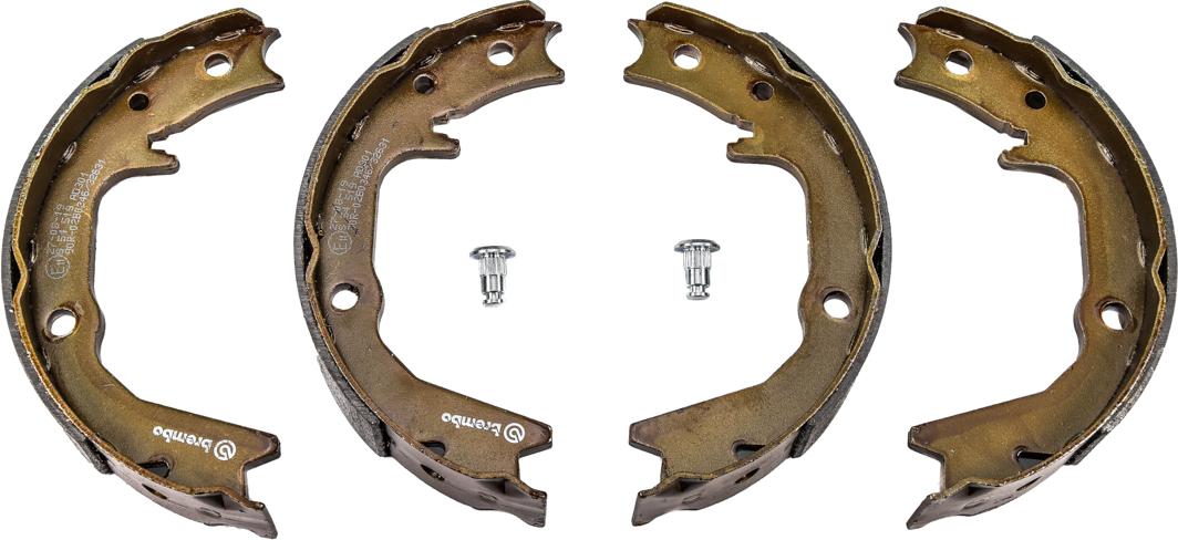 Купить Тормозные колодки, Brembo S54519 Колодки ручника