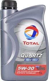 Моторное масло Total Quartz Ineo MC3 5W-30 синтетическое