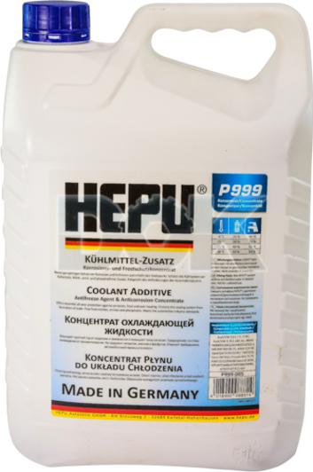 Концентрат антифриза Hepu G11 синий (P999005) , охлаждающая жидкость для авто в Украине и Киеве | DOK.ua