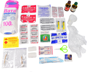 Автомобильная аптечка Carlife АМА-2 мягкий ama2