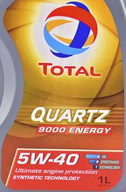 Моторное масло Total Quartz 9000 Energy 5W-40 синтетическое
