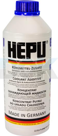Концентрат антифриза Hepu G11 синий , охлаждающая жидкость для авто в Украине и Киеве | DOK.ua