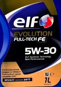 Моторное масло Elf Evolution Full-Tech FE 5W-30 синтетическое