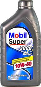 Моторное масло Mobil Super 2000 X1 Diesel 10W-40 полусинтетическое