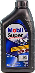 Моторное масло Mobil Super 2000 X1 10W-40 полусинтетическое