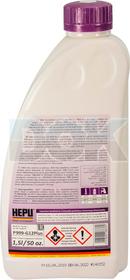 Концентрат антифриза Hepu G12+ фиолетовый