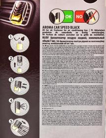 Ароматизатор Aroma Car Speed Black 7