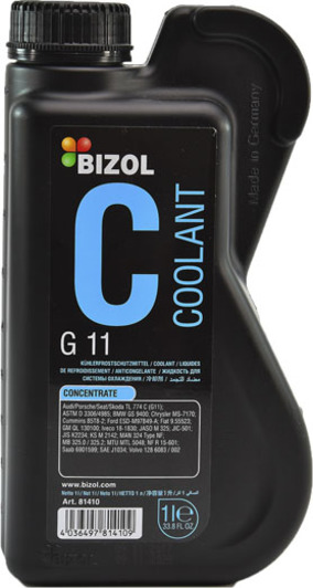 Концентрат антифриза Bizol G11 синий, охлаждающая жидкость для авто в Украине и Киеве | DOK.ua