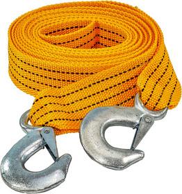Трос буксировочный Carlife TR703P лента 2,5 т 4 м