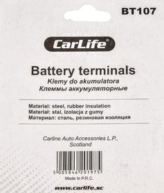 Клеммы АКБ Euro Type 1 Carlife BT107