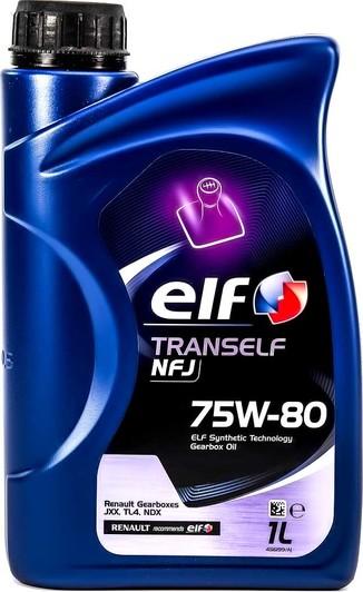 Трансмиссионное масло Elf Tranself NFJ GL-4+ 75W-80 полусинтетическое для авто в Украине и Киеве   DOK.ua